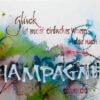 Champagner Postkarte Kopie