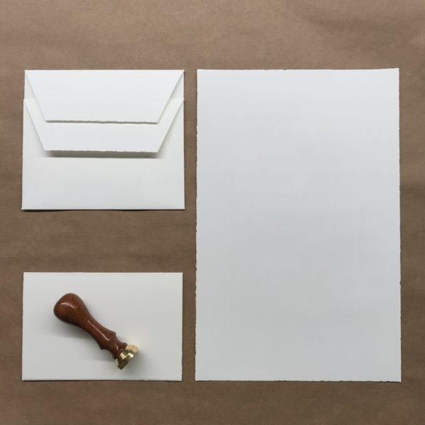 Bütten-Briefpapier